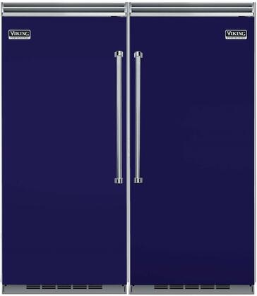 Viking 739653 5 Side-By-Side Refrigerators