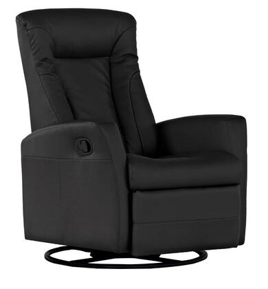 Dezmo D88598MPG Push Button Recline, Glider and Swivel, Arm Chair in Bonded Leather