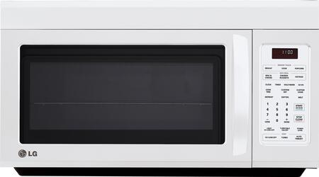 LG LMV1813SW 1.8 cu. ft. Capacity Over the Range Microwave Oven