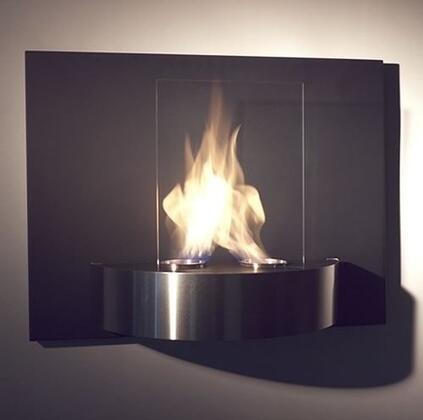 Nu-Flame NFW3VIO Wall Mountable Bioethanol Fireplace