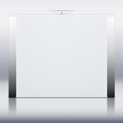"Summit SCFF70 38"" Chest Counter Depth Freezer with 6 cu. ft. Capacity in White"