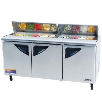 "Turbo Air TST72SD 72"" Freestanding Capacity Refrigerator"