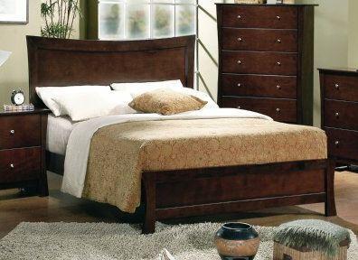 Yuan Tai ML3580 Milano Panel Bed in Espresso Finish