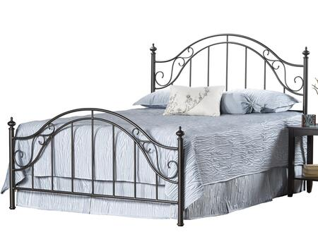 Hillsdale Furniture 1681BKR Clayton Series  King Size Poster Bed