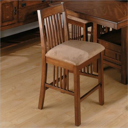 Jofran 477-BS490KD Transitional Fabric Wood Frame Dining Room Chair