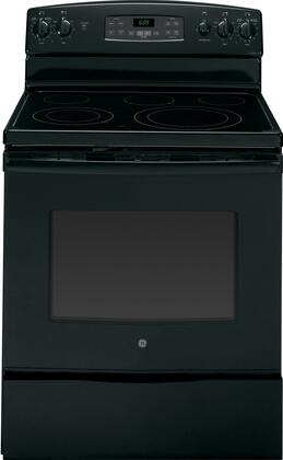 GE JB695DFBB  Electric Freestanding Range with Smoothtop Cooktop, 5.3 cu. ft. Primary Oven Capacity, Storage in Black