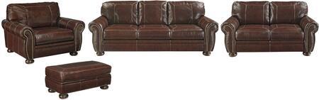 Milo Italia MI5555SLCOCOFF Taliyah Living Room Sets