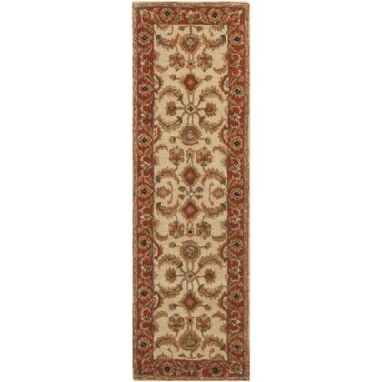 Surya A160 Ancient Treasures Ink Handmade Area Rug Made with 100% Semi-Worsted New Zealand Wool and Made in India