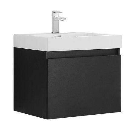 Fresca FCB8006XXX Nano Modern Bathroom Cabinet with Integrated Sink in