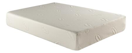 """Atlantic Furniture M4612 Slumber Memory Foam Mattress 11"""" Size with Removable Knitted Fabric Cover, Machine Washable and Wear Resistant"""