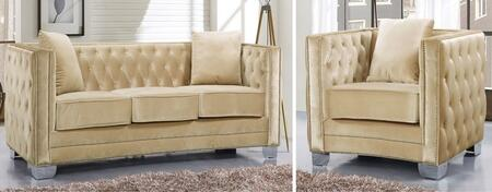 Meridian 648BESC Reese Living Room Sets