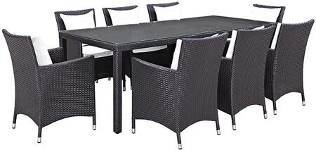 Modway EEI2217EXPWHISET Rectangular Shape Patio Sets