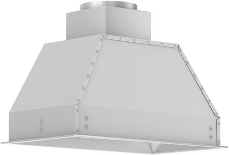 Z Line 695304 Outdoor Cabinet Insert with 1200 CFM, 4 Fan Speeds, Built-In Lighting, Dishwasher Safe Stainless Steel Baffle Filters, in Stainless Steel