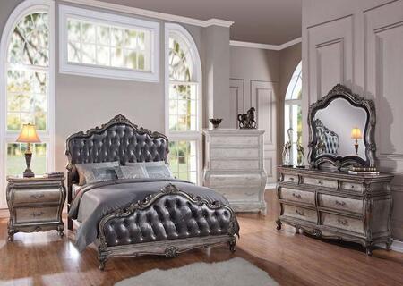 Acme Furniture 20534CK4PCSET Chantelle California King Bedro