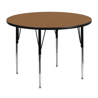 Flash Furniture XUA48RNDOAKTAGG