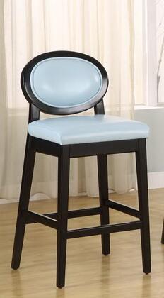 Armen Living LC7015BASB26 Residential Leather Upholstered Bar Stool