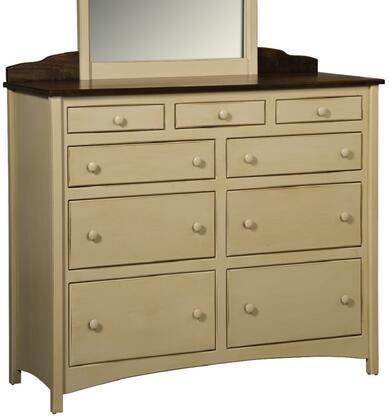 Chelsea Home Furniture 4650143BMB Graces Series Wood Dresser