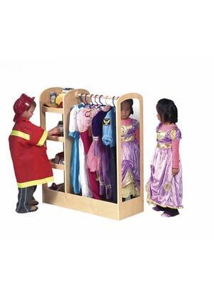 Guidecraft G981XX See & Store Children's Dress-up Center - X