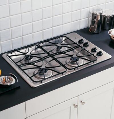 GE JGP328SEKSS  Gas Sealed Burner Style Cooktop
