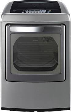 "LG DLGY1202V 27"" 7.3 cu. ft. Gas Dryer, in Graphite Steel"