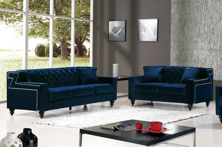Meridian 6162PCSTLKIT1 Harley Living Room Sets