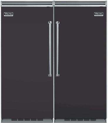 Viking 739645 5 Side-By-Side Refrigerators