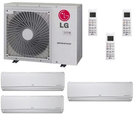 LG 706648 Triple-Zone Mini Split Air Conditioners