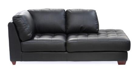 Diamond Sofa laredorfchaiseb LAREDO Series Leather Chaise Lounge