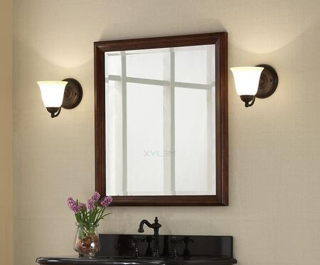 Xylem MMANOR28BN  Rectangular Portrait Bathroom Mirror