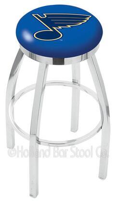Holland Bar Stool L8C2C25STLBLU Residential Vinyl Upholstered Bar Stool