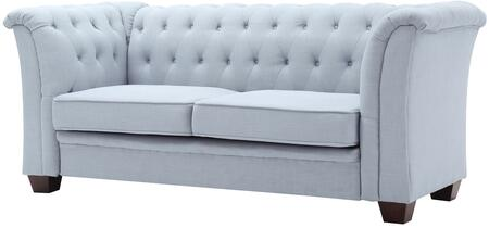 "Glory Furniture 80"" Sofa with Mid Century Design, Tufted Details, Removable Arms and Upholstery in"