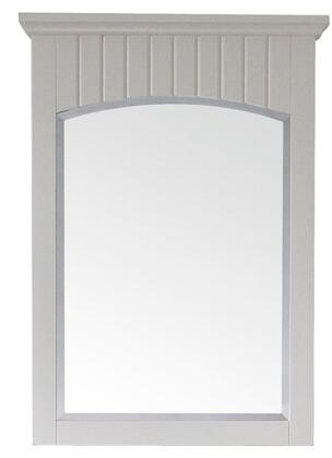 Avanity BEVERLYM24WT Beverly Series Rectangular Portrait Vanity Mirror
