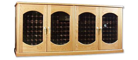 "Vinotemp VINO400CREDLEXLW 88"" Wine Cooler"