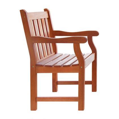 Vifah V209  Wood Frame  Patio Arm Chair