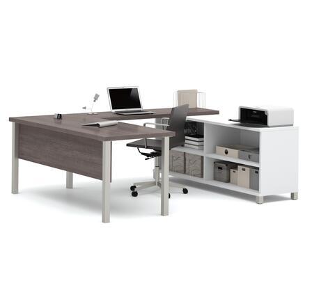 Bestar Furniture 120881 Pro-Linea U-Desk