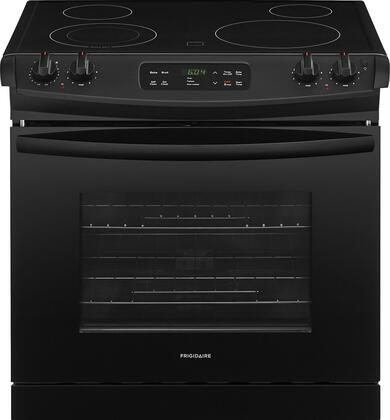 "Frigidaire FFED3026Tx 30"" ADA Compliant Drop In Electric Range with 4.6 cu. ft. Capacity, 4 Elements, Self-Clean Function, 2 Racks, and Auto Oven Shut-Off, in"