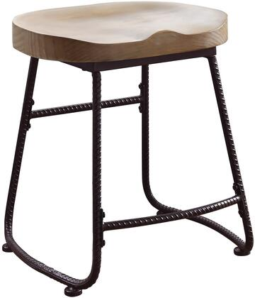 Coaster 101083 Dining Chairs and Bar Stools Series Transitional Metal Frame Dining Room Chair