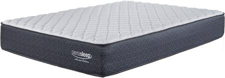 """Sierra Sleep Limited Edition Firm M797XX 13"""" Thick Mattress with Luxury Four Way Stretch Knit Cover, High Density Foam Encasement and Support Quilt Foam in White"""