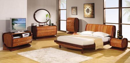 Global Furniture USA AutumnKokutenKingBedGroup Autumn King B
