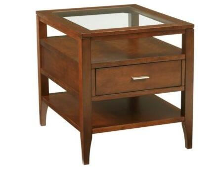 Broyhill 3418002 Arland Series Modren Square End Table