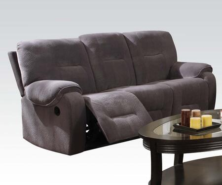 Acme Furniture 50800 Villa Series Reclining Fabric Sofa
