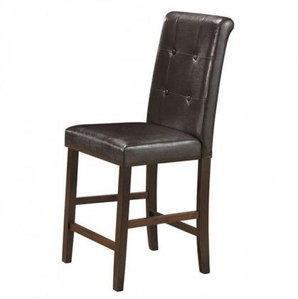 Glory Furniture G0048BS Residential Faux Leather Upholstered Bar Stool