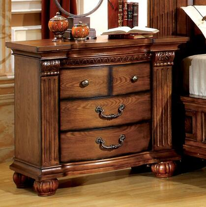 Furniture of America CM7738N Bellagrand Series  Night Stand