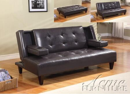 Acme Furniture 57000 Ely Series Sofabed Leather Sofa