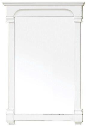 Bellaterra Home 205024-MIRROR- Wood Frame Beveled Bathroom Mirror: