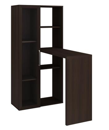 Accentuations 40AMC Accentuations by Manhattan Comfort Enchanthing Ast Smart Desk with 6 - Shelves
