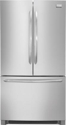 Frigidaire FGHN2844LF Gallery Series  French Door Refrigerator with 27.8 cu. ft. Total Capacity 4 Glass Shelves
