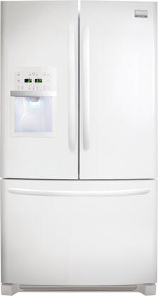 Frigidaire FGHB2844LP Gallery Series  French Door Refrigerator with 27.8 cu. ft. Total Capacity 4 Glass Shelves
