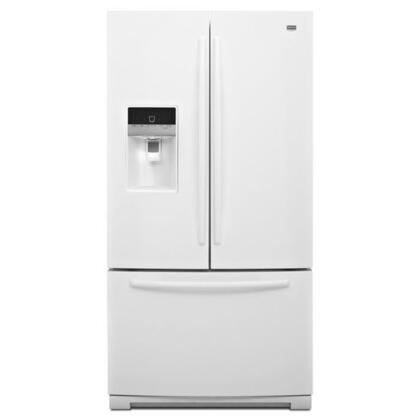 Maytag Mft2673bew Ice2o French Door Refrigerator With 26