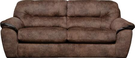 "Jackson Furniture Atlee Collection 4431-03- 95"" Sofa with Split Back, Decorative Contrast Bands and Pillow Top Arms in"
